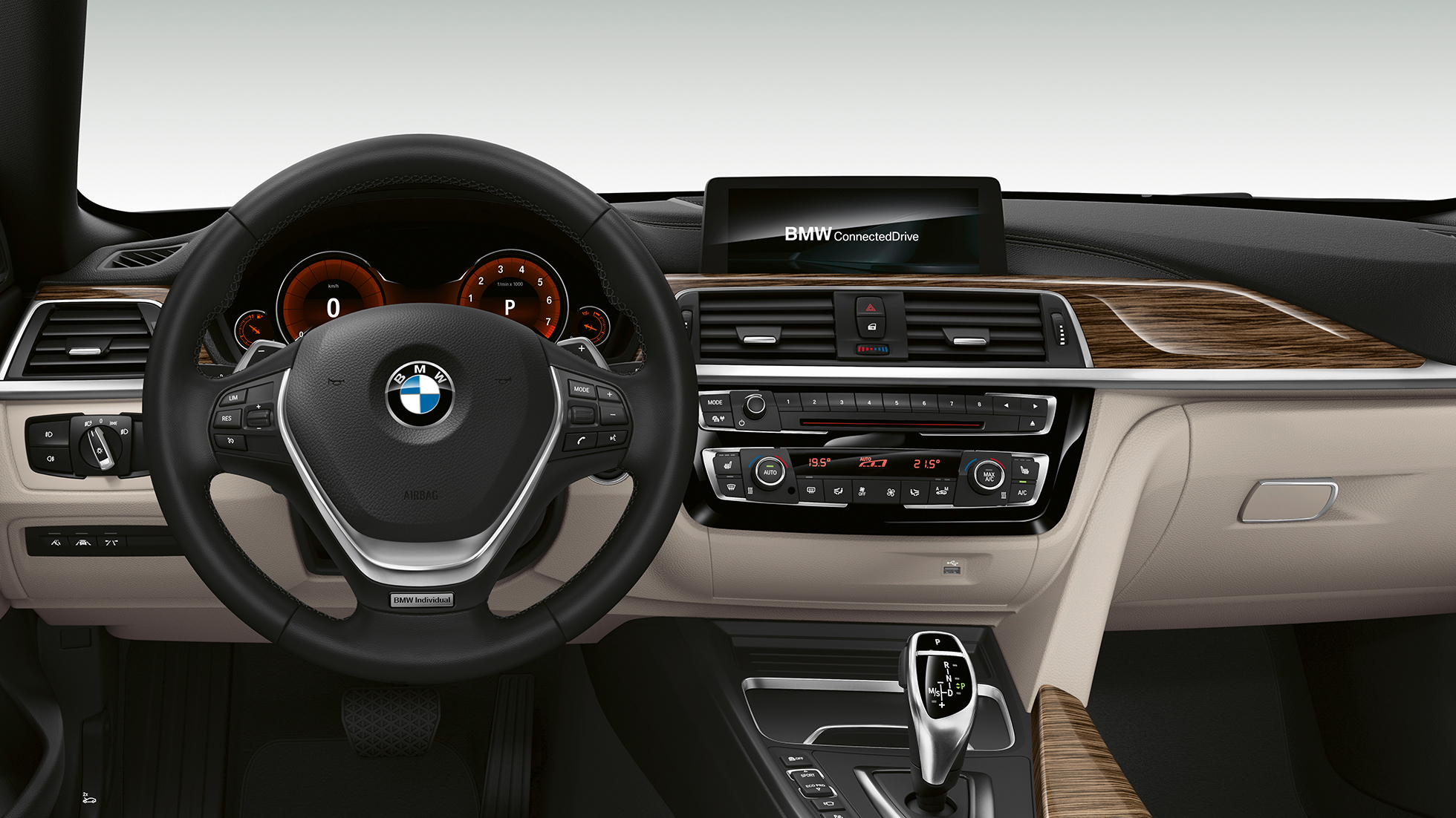 BMW 4 Series Gran Coupé, Model Luxury Line cockpit